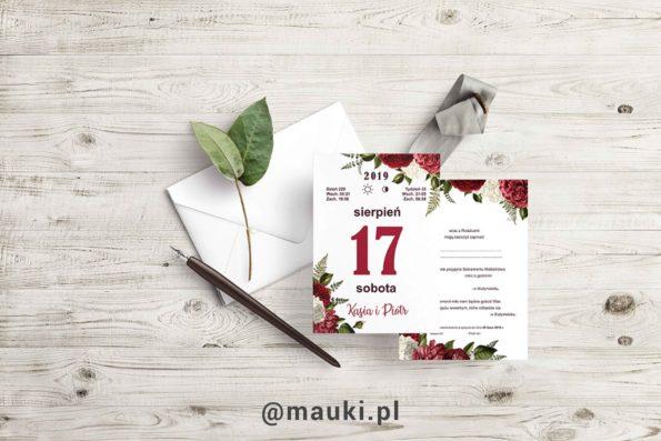 Zaproszenie Marsala