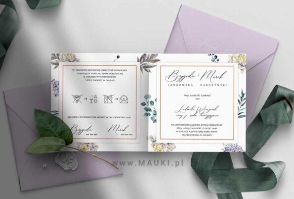 Ludmiła zaproszenie ślubne