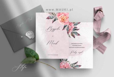 Stefa zaproszenie ślubne