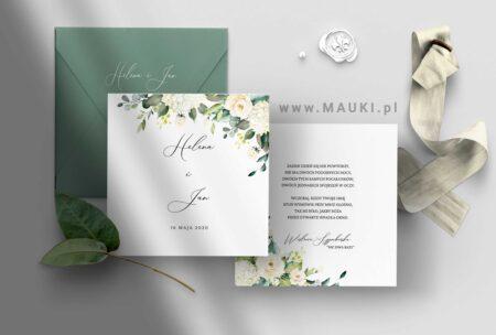 Rozalia zaproszenie ślubne