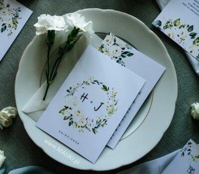 2020 Anita i Szymon: zestaw personalizowanej poligrafii ślubnej