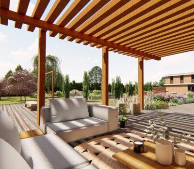 Projekt nowoczesnego ogrodu